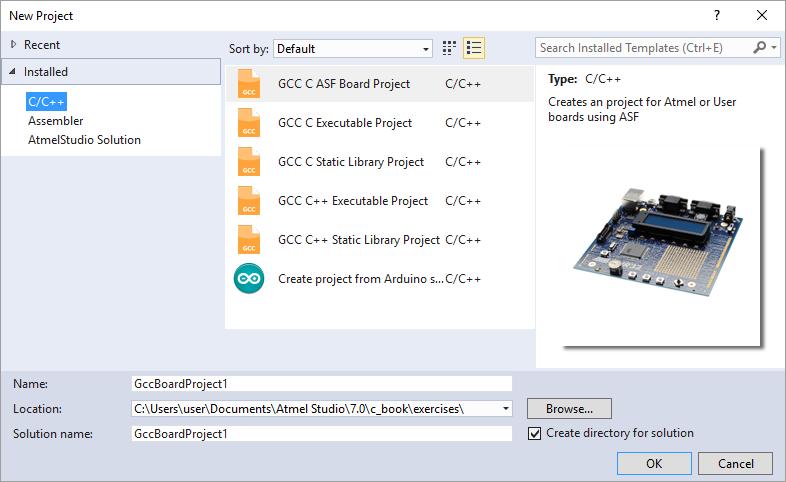 Installing Template Files in Atmel Studio 7