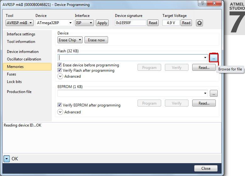 Restoring Arduino Uno Bootloader